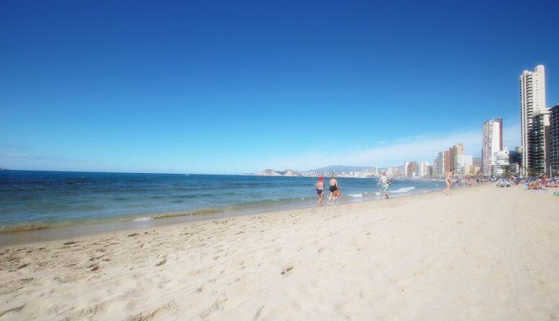 leilighet ved havet i Benidorm Villajoyosa