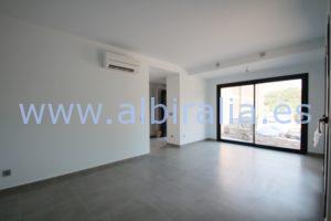 top floor apartment sea view albir