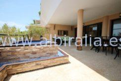 modern apartment sea view sale altea