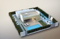 new modern villa la nucia polop for sale obra nueva