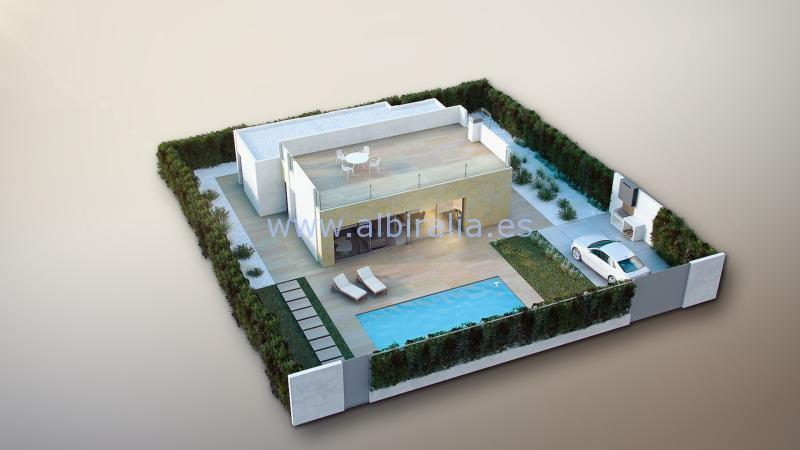 new modern villa la nucia polop for sale obra nueva