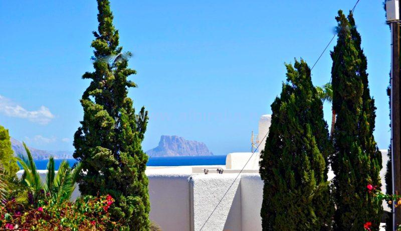 villa sea view sale albir altea