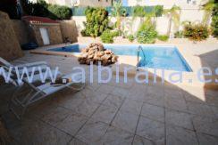 villa private swimming pool wifi costa blanca albir