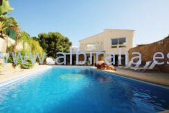 big private swimming pool bbq area albir costa blanca