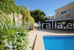 beautiful sommer villa holidays rent albir altea