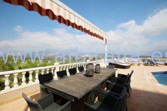 modern villa holidays let albir altea