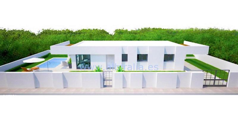 moderna villa recien construcida en venta alfaz
