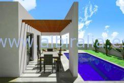 new built villa alfaz
