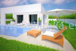 new built villa for sale arabi