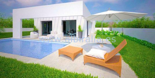 Elegant, modern, fresh villa all in one level I V229P