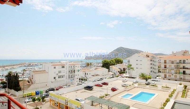 apartment sea view first line albir sale