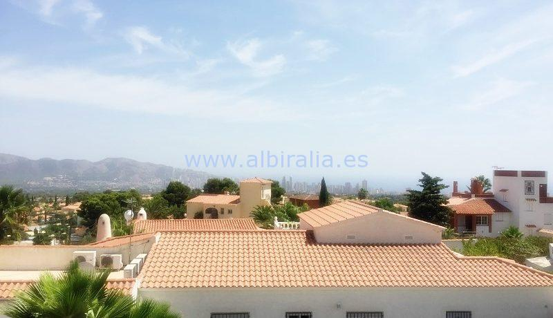all in one floor house albir altea