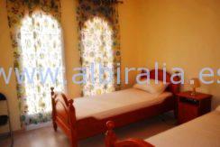 south facing terrace holidays apartment rent albir