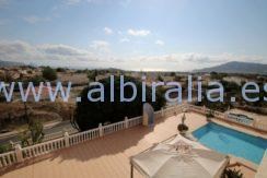 long term luxuries villa altea albir
