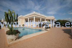 long term luxuries villa altea albir