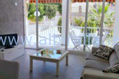 Apartment albir pool short term rent holidays modern