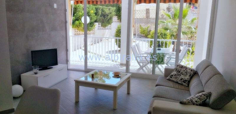 Apartment albir pool short term rent holidays modern