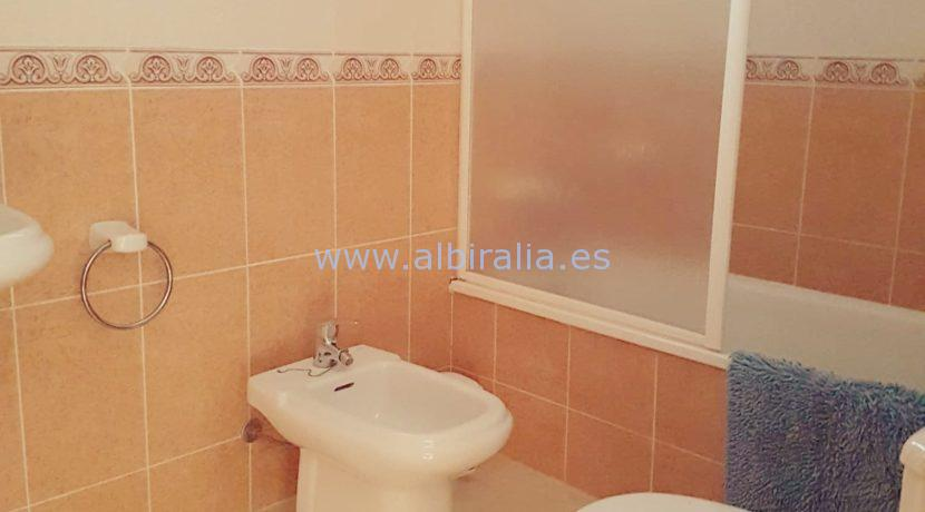 Long term apartment unfurnished rent Albir
