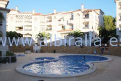2020 Cheap long term rent apartment albir swimming pool