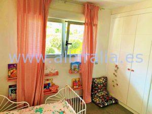 Hercules Albir villa detached house long term rent sea view