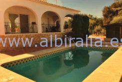 Modern villa rent long term albir altea swimming pool