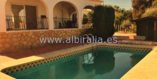 Modern villa for rent long term 2020/2021 Albir I V245