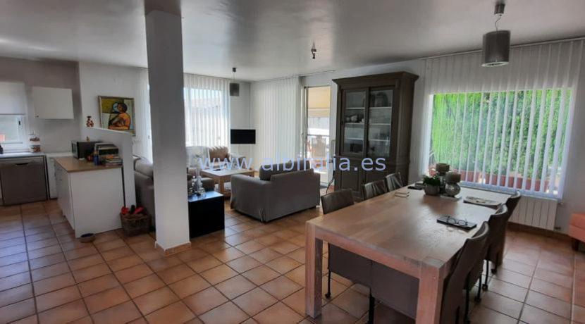 Living room and kitchen urb Belmonte Den Norske Skole Alfaz