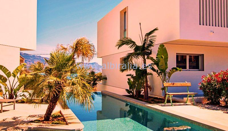Modern property for long term rent Albir 1