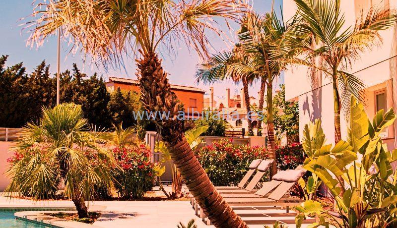 Moderne villa til langtidsleie i Albir 9