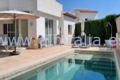 villa with private pool holidays Albir