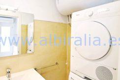 Leilighet på bakkeplan til leie i Albir vaskemaskin og tørketrummel