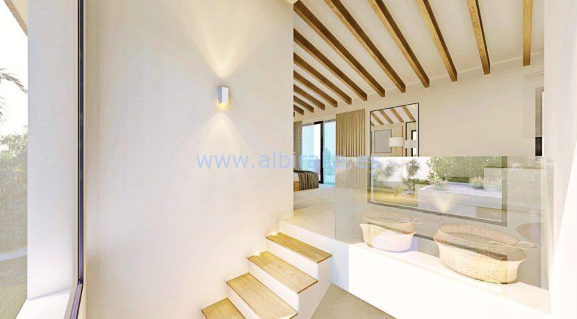 Long term rent villa Albir acces to the master bedroom