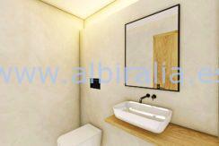 Long term rent villa Albir bathroom 1