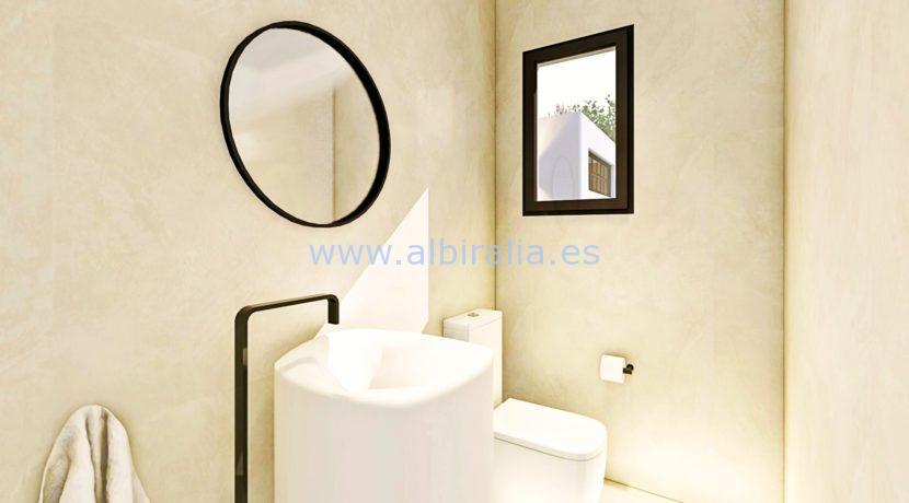 Long term rent villa Albir bathroom 2