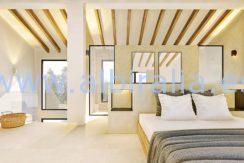 Long term rent villa Albir bedroom with bath in suit