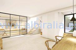 Long term rent villa Albir eating area