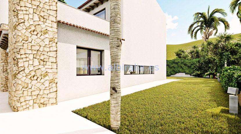 Long term rent villa Albir green private area