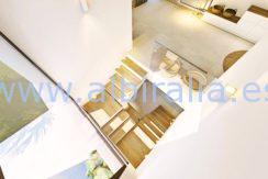 Long term rent villa Albir look from the roof