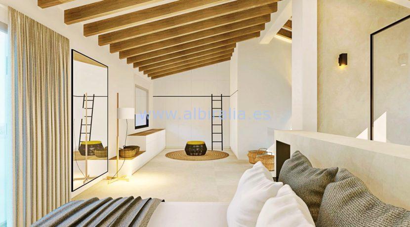Long term rent villa Albir new refurnished modern style
