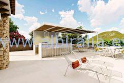 Long term rent villa Albir relax area
