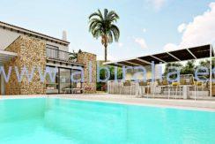 Modern villa long term rent Albir Costa Blanca