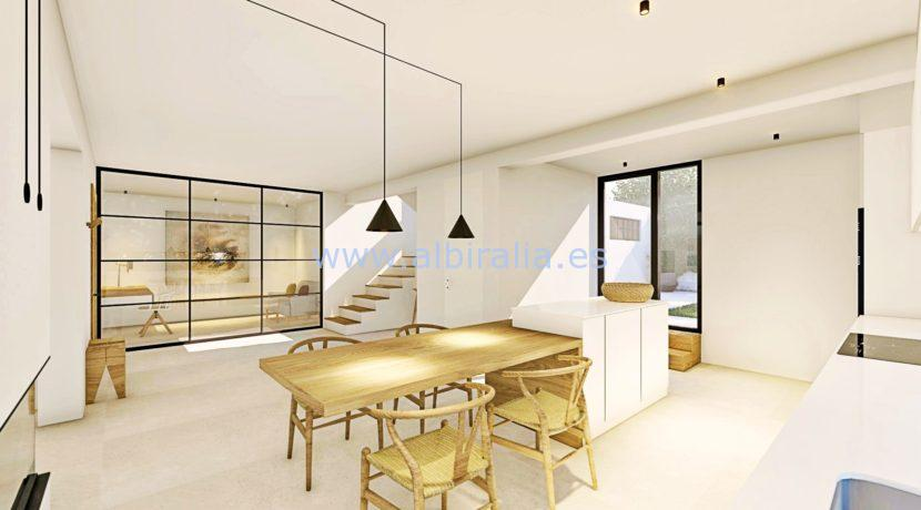 Modern villa long term rent Albir Costa Blanca North